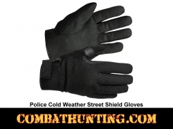 Police Gloves Cold Weather Street Shield Gloves