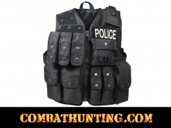 SWAT Police Tactical Raid Vest