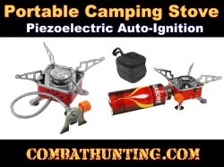 "Mini Backpacking Hiking Portable Camping Stove 3.5"" Nozzle Bottle"