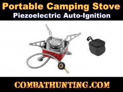 Portable Camping Stove For Screw On Fuel Canister