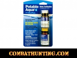 POTABLE AQUA PA+Plus Water Purification Treatment