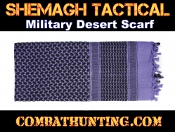 Purple Shemagh Tactical Military Desert Scarf