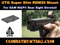 UTG Super Slim RDM20 Mount for S&W M&P� Rear Sight Dovetail