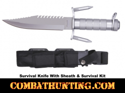 Ramster Survival Knife Kit With Compass