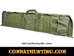 Rifle Case Shooters Mat Green