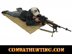 Ncstar Roll Up Shooting Mat In Tan / Flat Dark Earth