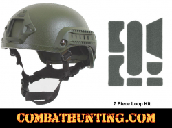 Base Jump Helmet Olive Drab For Airsoft, Paintball