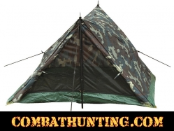 Rothco Camo Two Man Trail Tent Woodland Camouflage