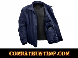Rothco 3 Season Concealed Carry Jacket In Navy Blue