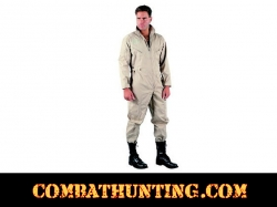 Air Force Style Flight Suit Khaki