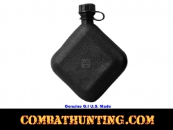 Genuine G.I. Black Bladder Canteen U.S. Made