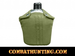 G.I. Style Aluminum Canteen and Cover