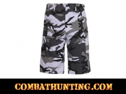 Rothco Long Length City Camo BDU Shorts