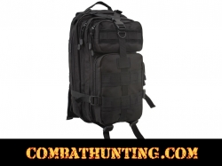 Military MOLLE Transport Assault Pack Black