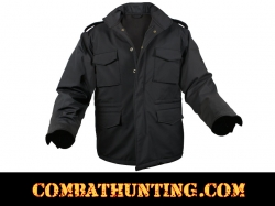 Rothco Soft Shell Tactical M-65 Jacket Black