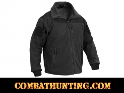 Rothco Spec Ops Tactical Fleece Jacket Color Black