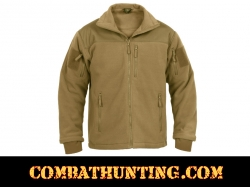 Rothco Spec Ops Tactical Fleece Jacket Color Coyote Brown