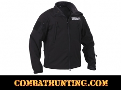 Rothco Special Ops Soft Shell Security Jacket Black