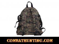 Rothco Vintage Canvas Mini Backpack Smokey Branch Camo