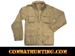 Lightweight Vintage M-65 Field Jacket Khaki