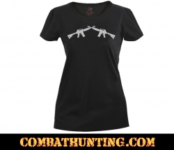 Women's Crossed Rifles Longer T-Shirt