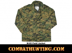 M-65 Field Jacket Woodland Digital Camo
