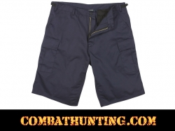 Rothco Navy Blue Long Length BDU Shorts