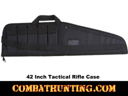 "42"" Tactical Gun Case With 5 Mag Pouches"