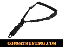 Single Point Bungee Sling QD Black