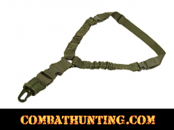 Single Point Bungee Sling QD Green