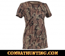 Women's  Smokey Branch Camo Long Length T-shirt