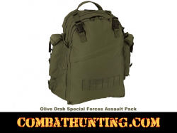 Special Forces Olive Assault Pack Hydration System