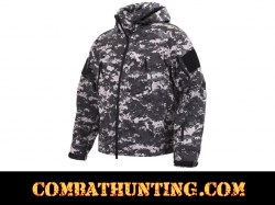 Rothco Special Ops Soft Shell Jacket Subdued Urban Digital Camo