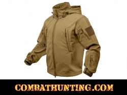 Rothco Special Ops Tactical Soft Shell Jacket Coyote Brown