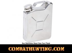 Jerry Can Gas Can Flask Stainless Steel 5oz