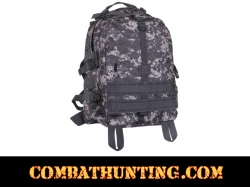 Subdued Urban Digital Camo Large Transport Pack