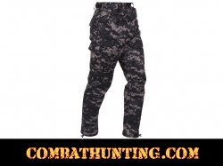 Subdued Urban Digital Camo BDU Pants