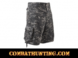 Rothco Subdued Urban Digital Camo Vintage Infantry Utility Shorts