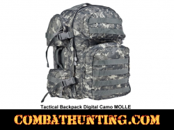 Tactical Backpack Digital Camo MOLLE