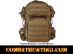 Military Tactical Backpack Tan/FDE