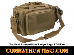 Tactical Competition Range Bag FDE/Tan