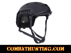 Advanced Tactical Adjustable Airsoft Helmet Black