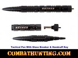 Tactical Pen With Glass Breaker & Handcuff Key