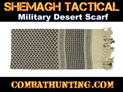 Tan Shemagh Tactical Military Desert Scarf