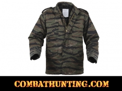Tiger Stripe Camo M-65 Field Jacket