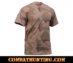 Tri-Color Desert Camo T-Shirt