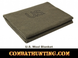 U.S. Made Military Style Wool Blanket