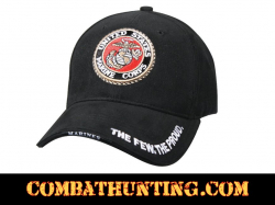 Deluxe Low Profile Cap With USMC Globe & Anchor Logo