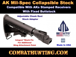 AK47/74 Mil-spec Collapsible Stock Combo Kit