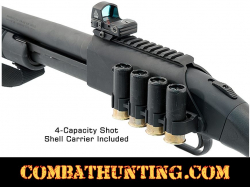Mossberg 500/590 Optic Rail Mount With Side Saddle